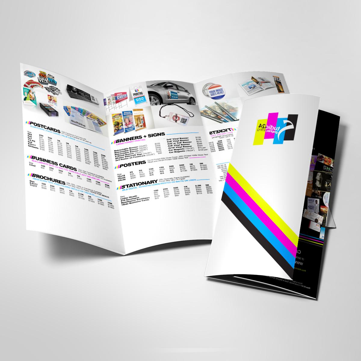 Brošiūrų maketavimas