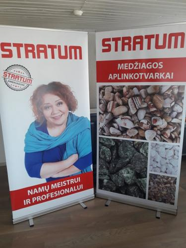 Roll-up stendai